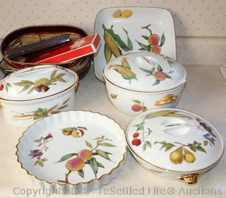 Royal Worcester, Cheese Serving Set and More