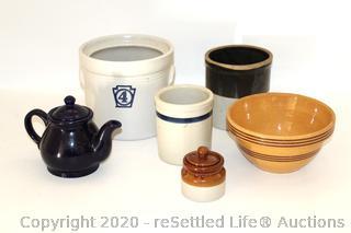 Yorktown Pfaltzgraff and Pottery