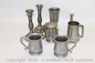 Rand Pewter Stein and More