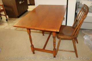 Cohasset Colonials by Hagerty Cherry Desk and Chair