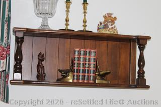 Brass Bookends, Book Collection, Wedgewood and More