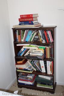 Bookcase and Books