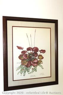 Signed Ray Harm Print-Carolina Wren