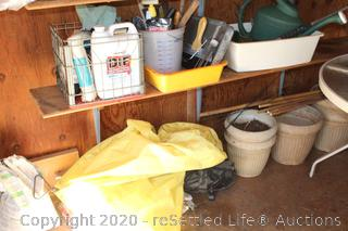 Flower Pots, Sprayer, Paint Supplies, Watering Cans and More
