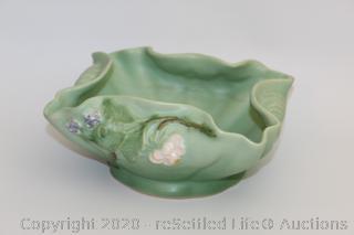 Vintage Weller Decorative Bowl