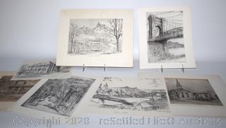 Caroline Williams Signed Print Collection