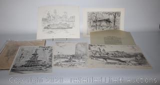 Signed Prints by Caroline Williams