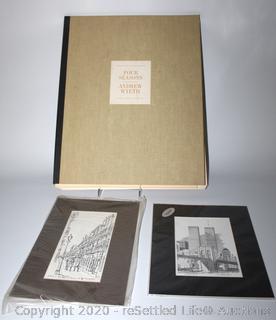 Set of Twelve Andrew Wyeth Reproduction Prints