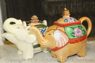 Collectible Teapots and Canisters