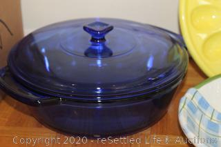 Pyrex, Platters and Glasses
