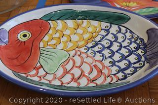 Fish Themed Serveware