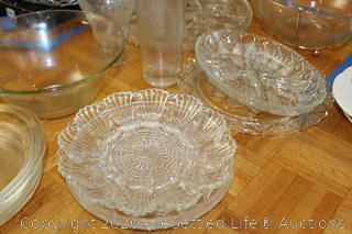 Serving Trays, Bowls, Vases and More