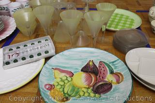 Barware, Platters, Picks and More