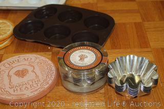 Pampered Chef, Fire-King, Tramontina and More