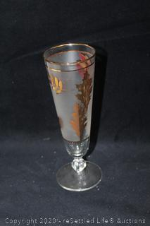 Collection of Gold-Rimmed Stemware and More