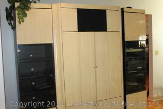 Entertainment Center, TV, Stereo and More