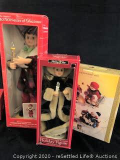 Variety of Christmas Figurines