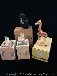 Country Artist and Martha Cary Collectible Figurines