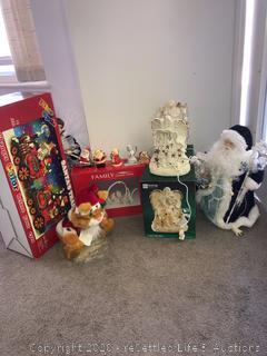 Variety of Christmas Décor
