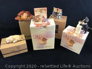 Country Artist Cat Figurines and More