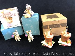 Collectible Cat Figurines