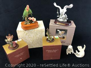 Lenox, Country Artists and San Francisco Music Box Figurines