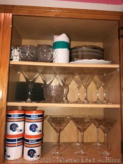 Variety of Barware