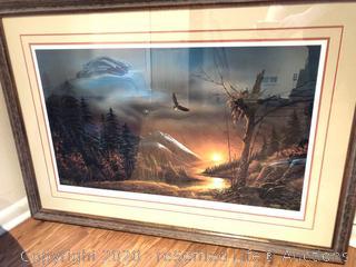 Terry Redlin Limited Edition Framed Artwork