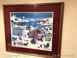 Linda Nelsen Stocks Limited Edition and Signed Artwork