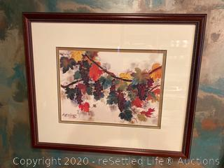 Hsing Hua Chang Framed Limited Edition Artwork