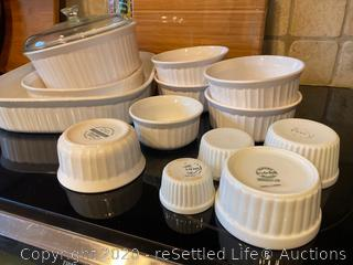 Corningware and Sur La Table Baking Dishes