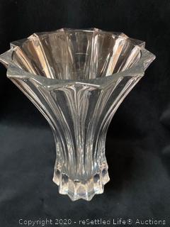 Riedel Vase and Krosno Vase