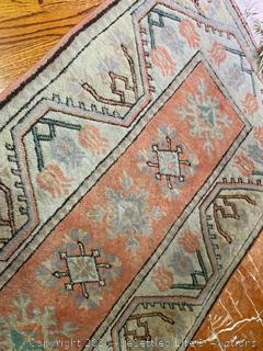 Turkish Wool Rug and Lamp