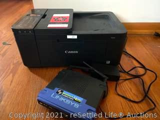 Canon Printer and Linksys Router