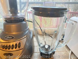 Oster Blender, Hamilton Beach Slow Cooker, and Toaster