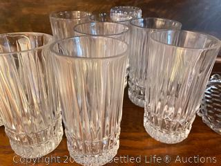 Crystal Val St. Lambert Candlesticks and More