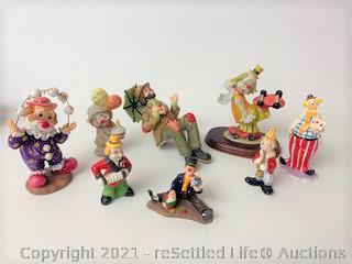 Emmett Kelly Clown Figurine and More