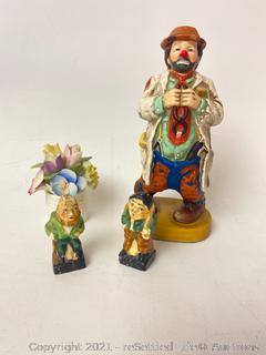 Dave Grossman Clown Figurine and More