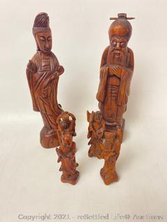 Vintage Chinese Wood Carvings
