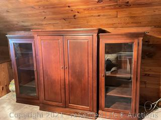 """Entertainment Center with Sony 32"""" TV"""
