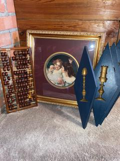 Wall Decor and Abacus