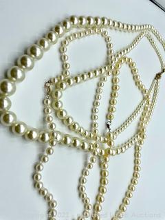 Trio of Pearl Necklaces