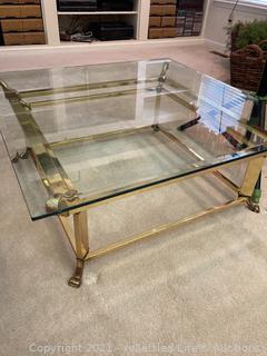 Brass Decorative Coffee Table