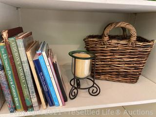 Books, Basket and More