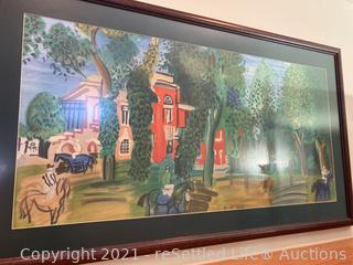 Raoul Dufy Framed Art