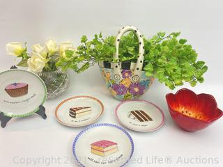 Plates and Home Decor