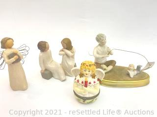 Willow Tree and Villeroy and Boch Figurines
