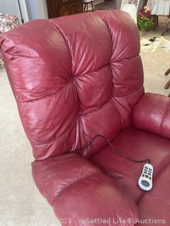 Berkline Massage Chair and Recliner