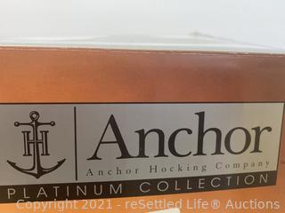 Anchor Hocking 3 Piece Tiered Platter Set