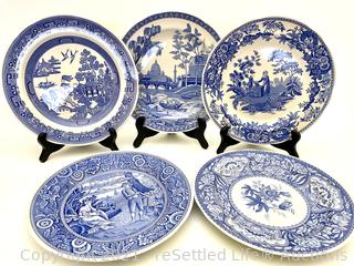Spode Blue Room Collectible Plates